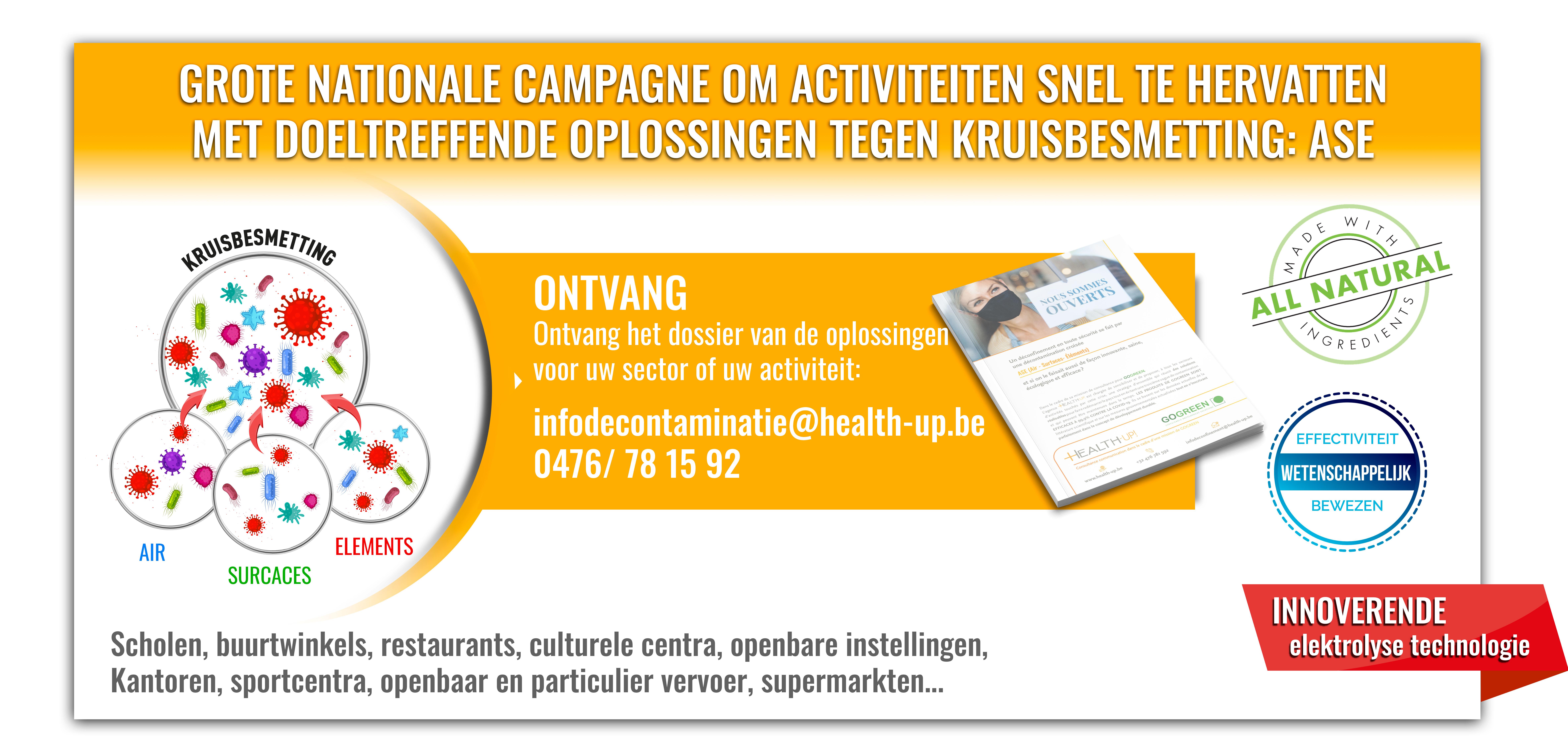 Contact voor de campagne voor deconfinatie